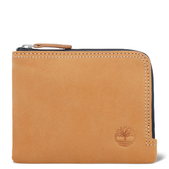 Men's New Ipswich Zip Wallet Yellow | Timberland