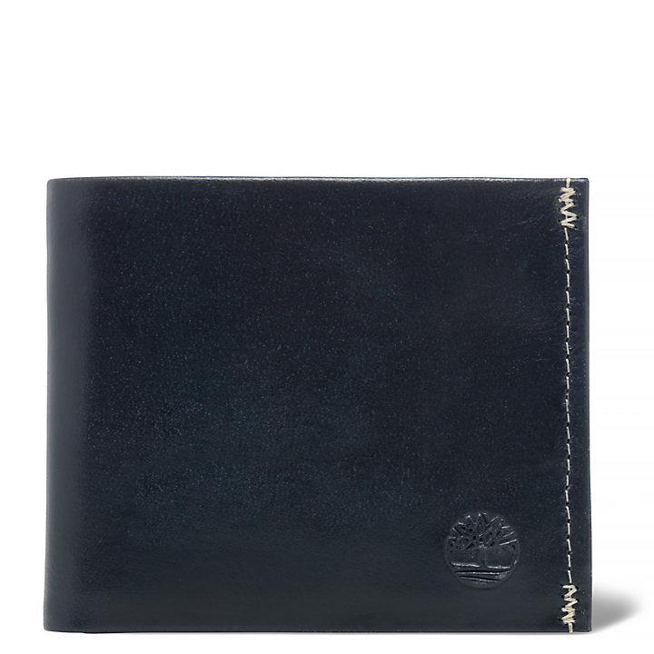 Herrenbrieftasche Dracut in Schwarz-
