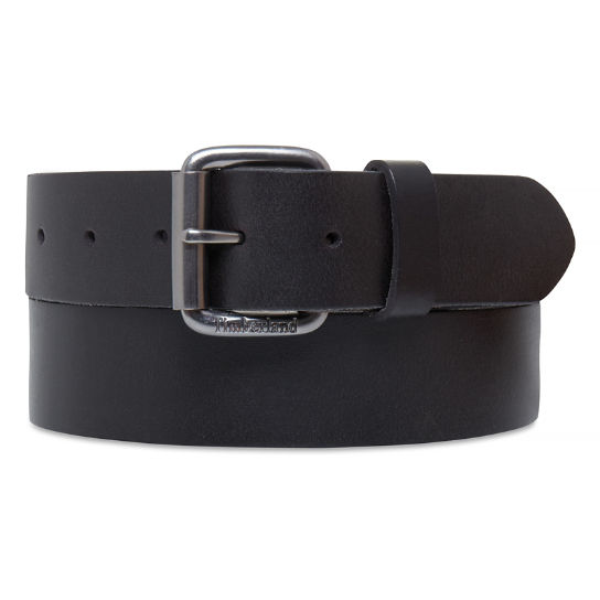 Leather Belt 38 mm Homme Noir | Timberland