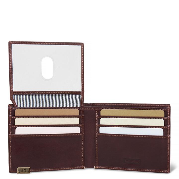 Suncook Card Case Uomo Marrone scuro-