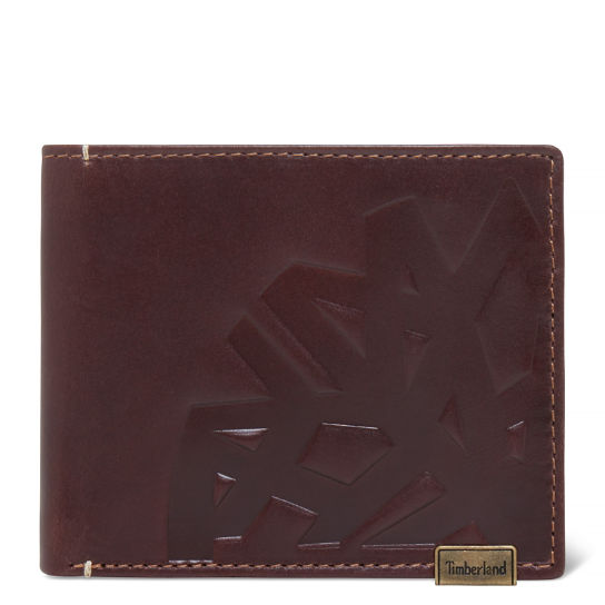 Men's Suncook Card Case Dark Brown | Timberland