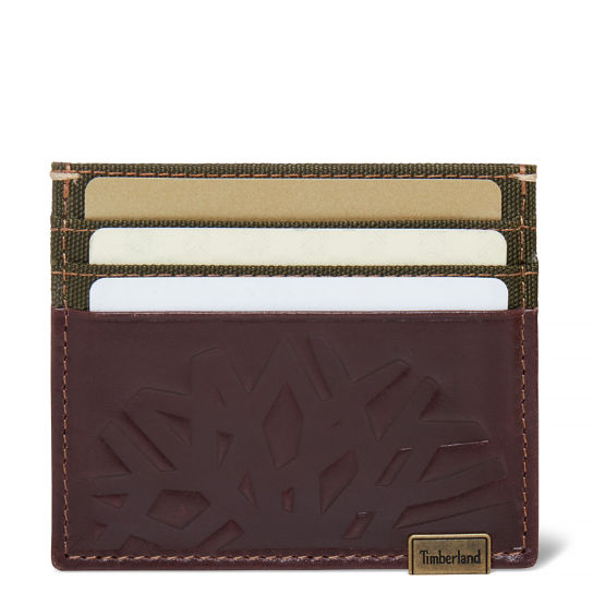 Suncook Card Holder Homme Marron foncé | Timberland