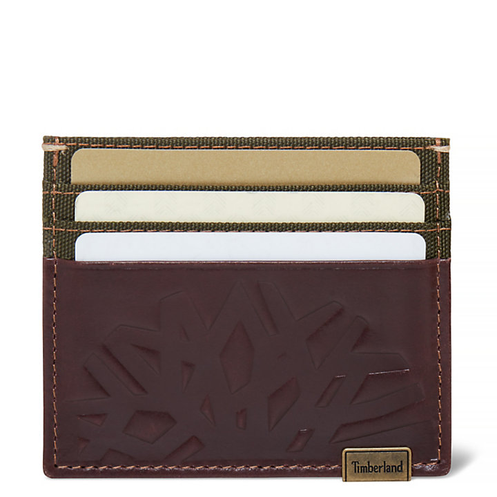 Men's Suncook Card Holder Dark Brown-