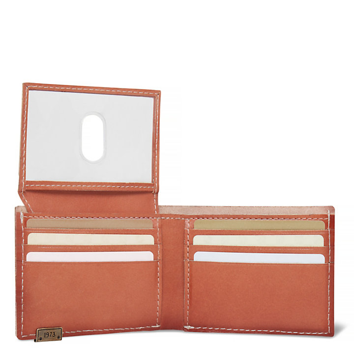 Osceola Card Case Hombre Marrón-