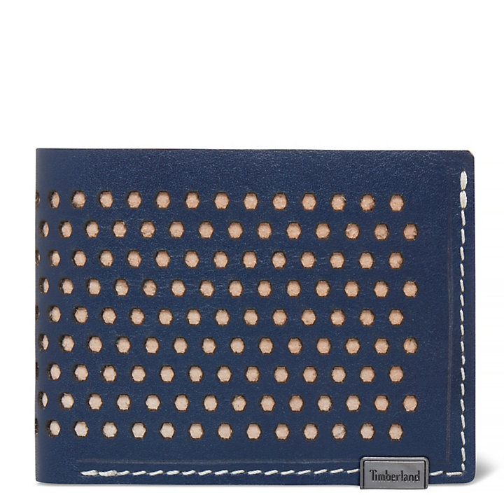 Osceola Card Case Heren Marineblauw-