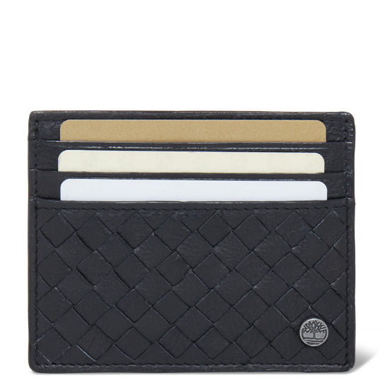 Mousam Textured Card Holder Heren Zwart | Timberland