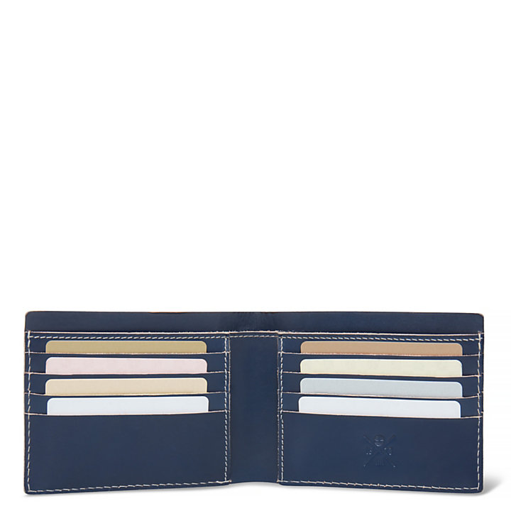 White River Wallet Homme Bleu-