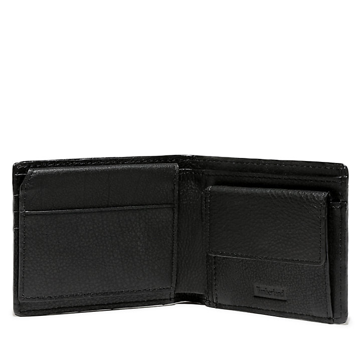 Men's Mousam Textured Card Case Black-