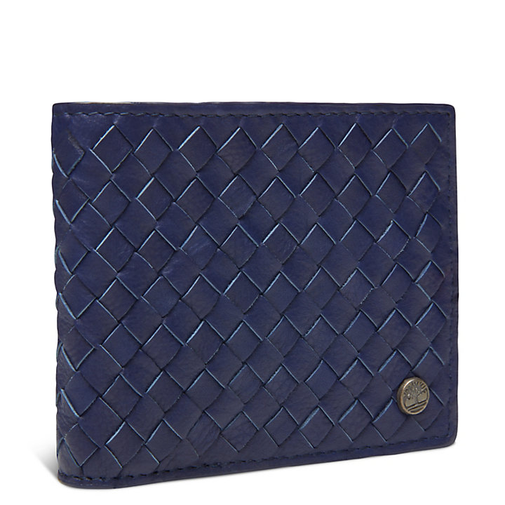 Mousam Textured Card Case Homme Bleu marine-