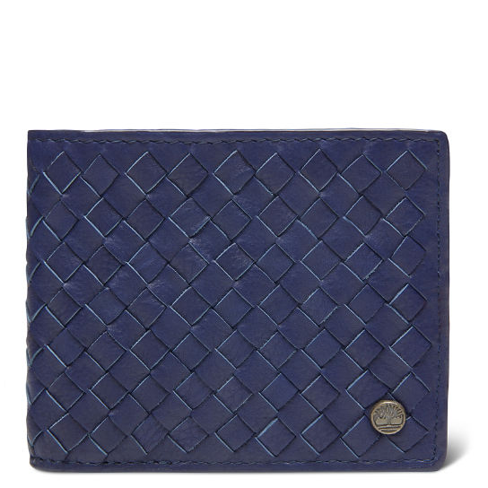 Men's Mousam Textured Card Case Navy | Timberland