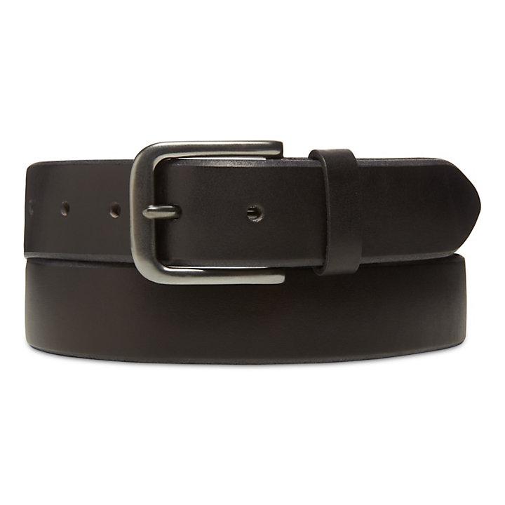 Cinturón de Estilo Retro para Hombre en Negro-