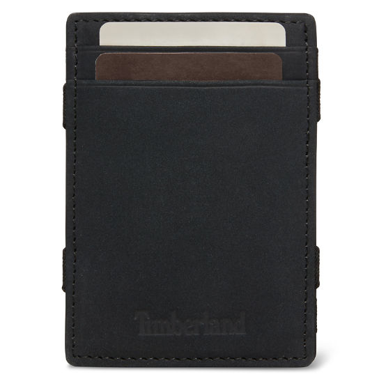 Halpin Magic Wallet for Men in Black | Timberland