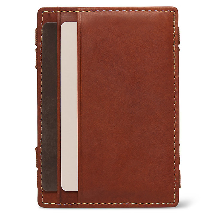 Halpin Magic Wallet for Men in Brown-