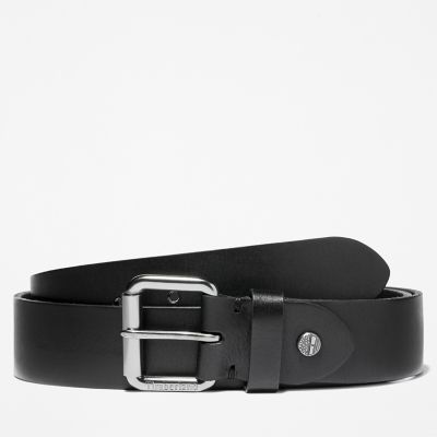 Roller+Buckle+Belt+for+Men+in+Black
