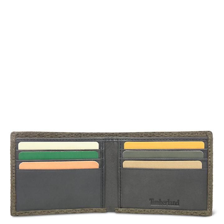 Sebago Lake Brieftasche für Herren in Grün-