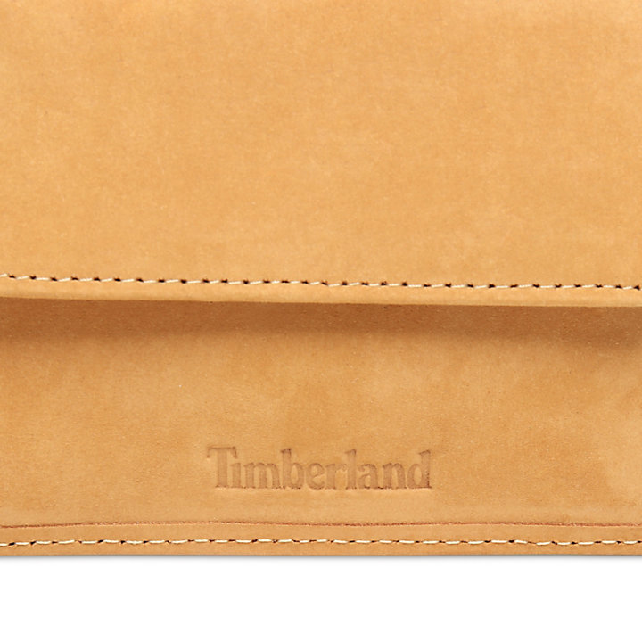 Stratham Large Wallet for Men in Yellow-