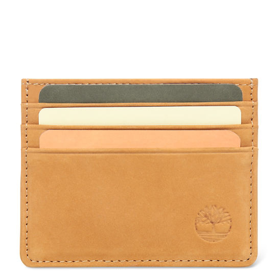 Stratham Card Holder for Men in Yellow | Timberland