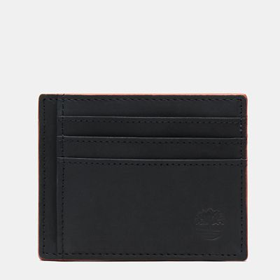 Contrast+Edge+Card+Case+for+Men+in+Navy