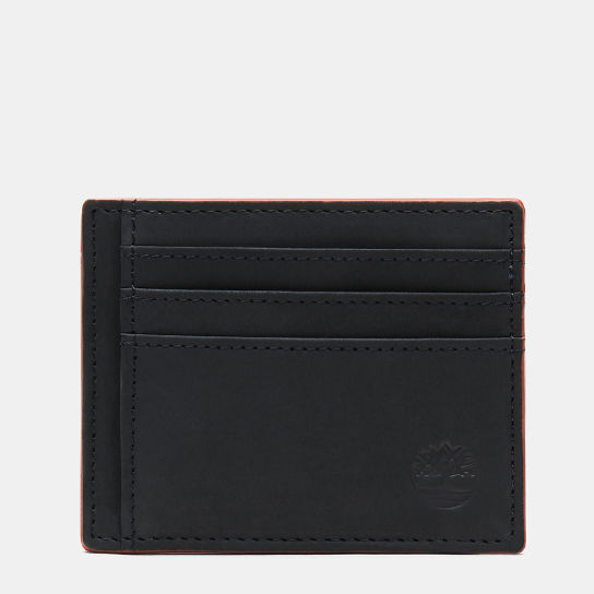 Contrast Edge Card Case for Men in Navy | Timberland