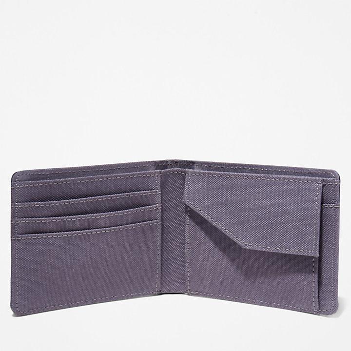 Portefeuille à écusson Halyard avec poche à monnaie pour homme en vert-