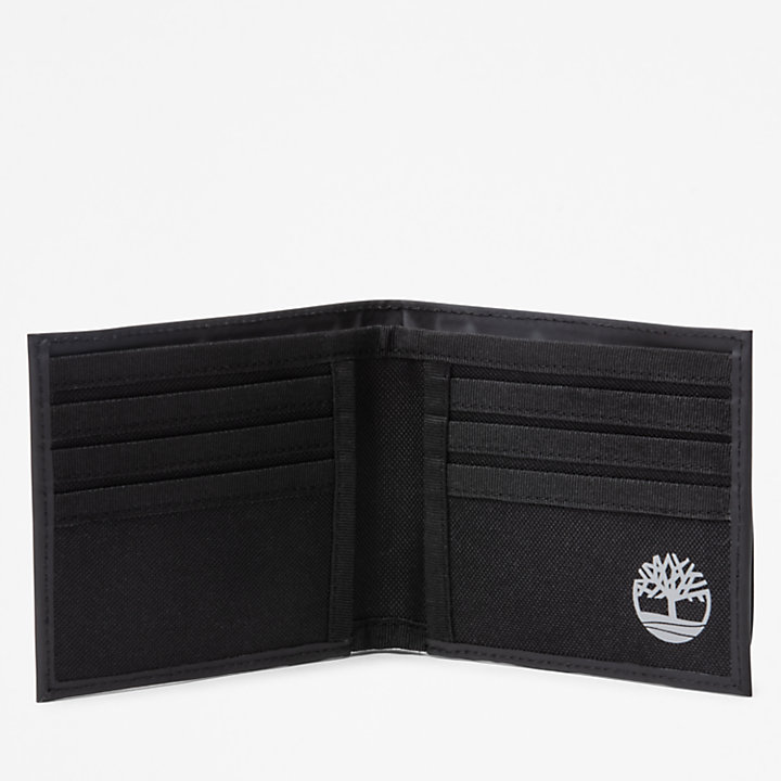Grand portefeuille Canfield pour homme en noir-