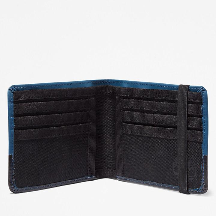 Canfield Grote portemonnee voor heren in blauw-