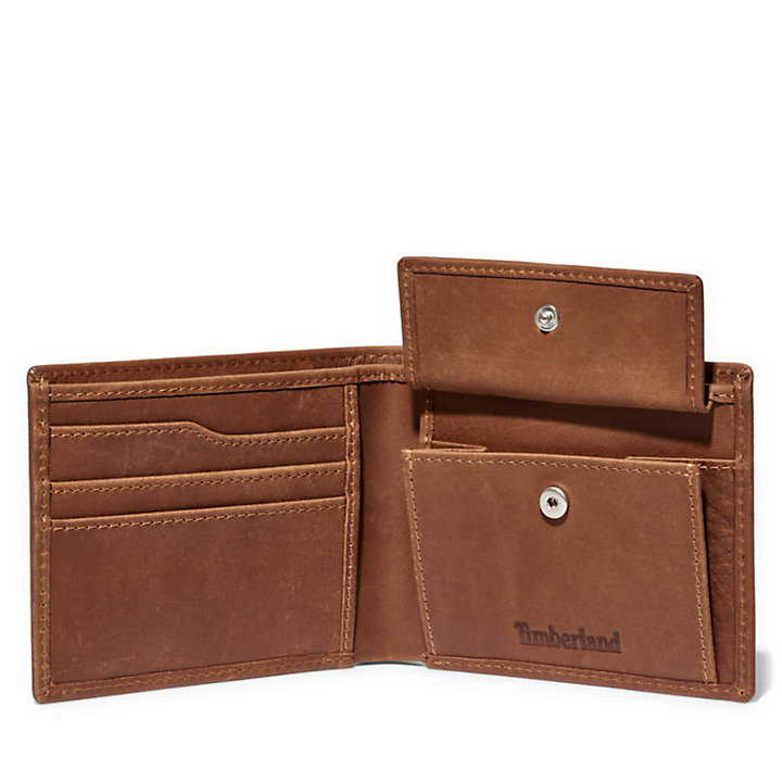 Monadnock Leather Wallet for Men in Brown-