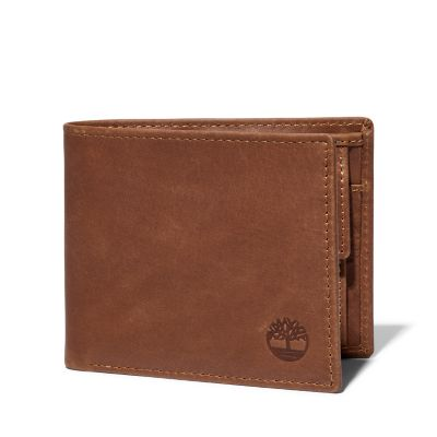 Monadnock+Leather+Wallet+for+Men+in+Brown
