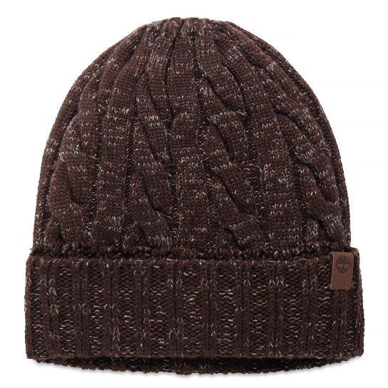 Men's Ribbed Fisherman Beanie Cocoa | Timberland