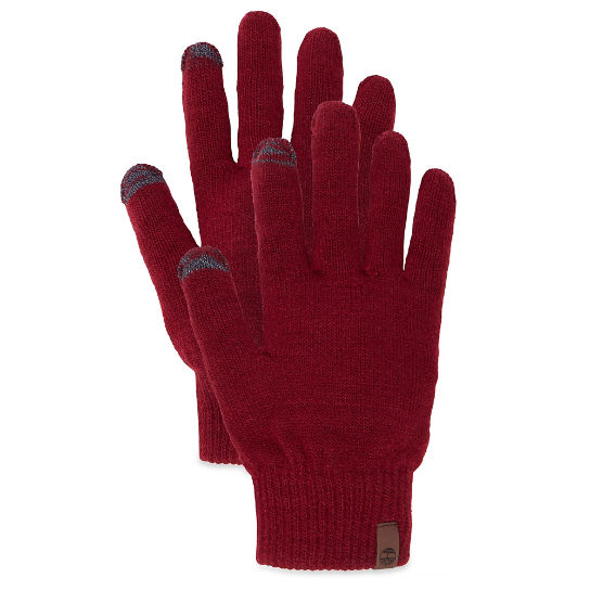 Magic Knitted Gloves rojo | Timberland