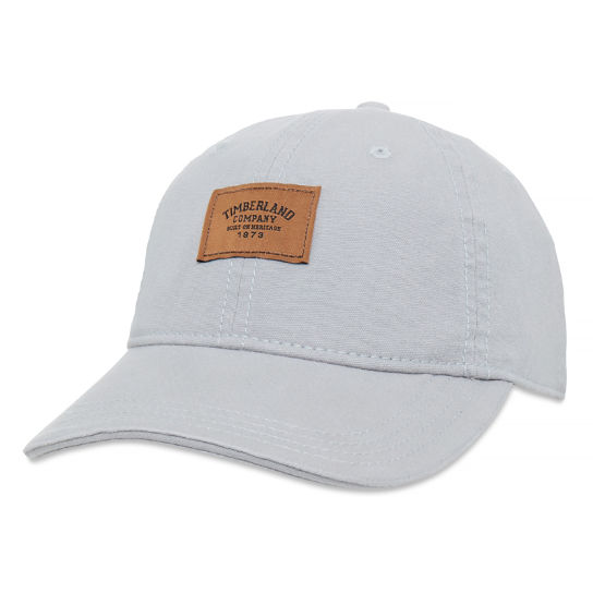 Cotton Canvas Cap Homme Gris | Timberland