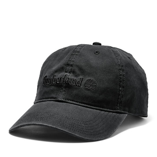 Canvas Baseball Cap for Men in Black | Timberland