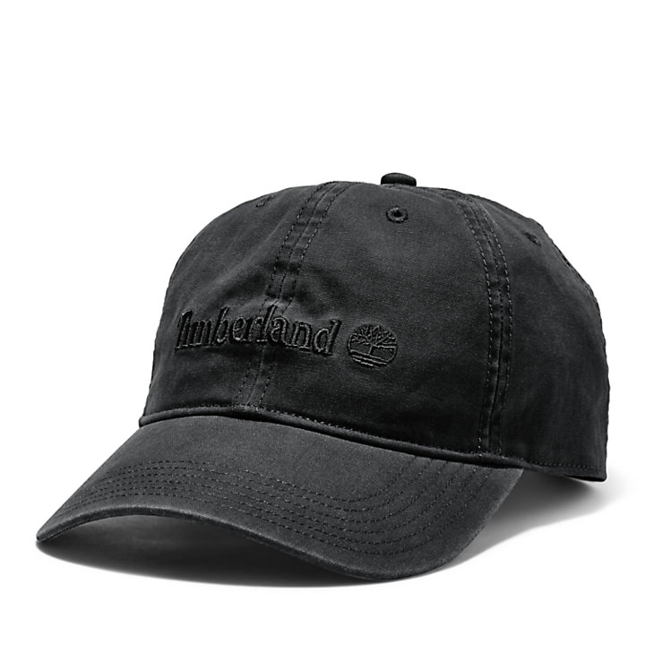 Southport Beach Baseball Cap for Men in Black-