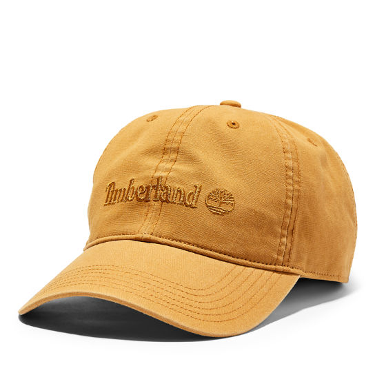 Canvas Baseball Cap for Men in Yellow | Timberland