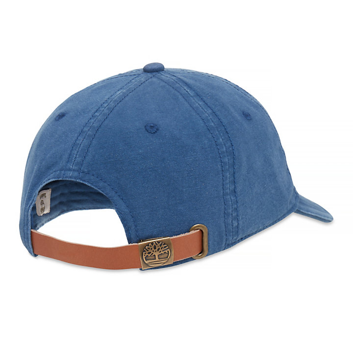 Canvas Baseball Cap for Men in Light Blue-