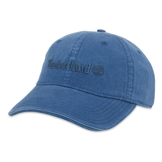 Canvas Baseball Cap for Men in Light Blue | Timberland