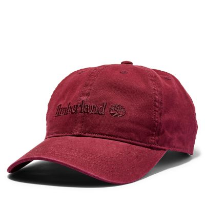 Southport+Beach+Baseball+Cap+for+Men+in+Burgundy