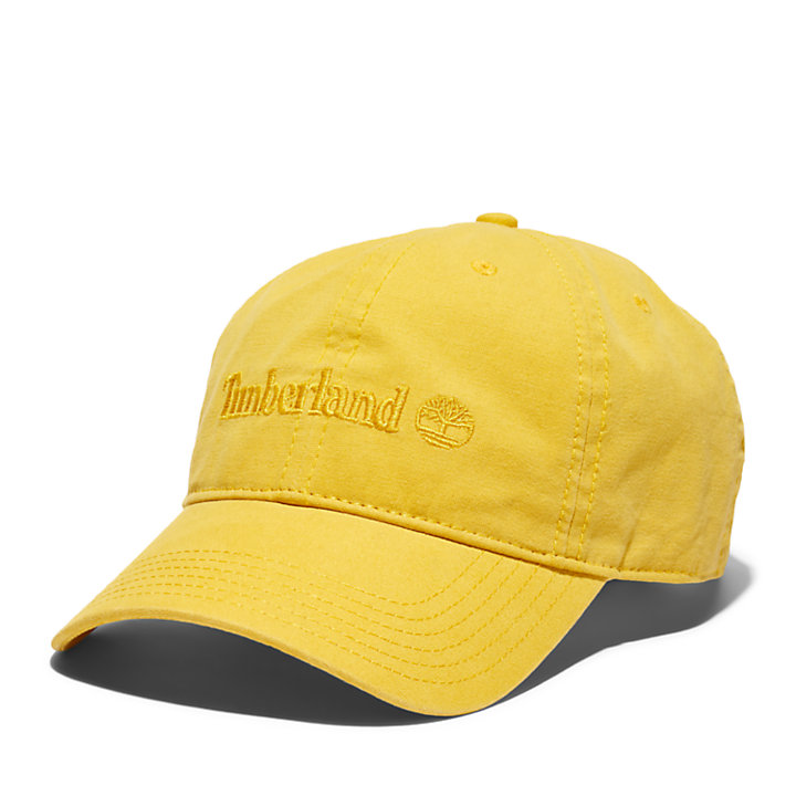 Southport Beach Baseball Cap for Men in Yellow-