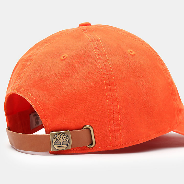 Southport Beach Baseball Cap for Men in Orange-