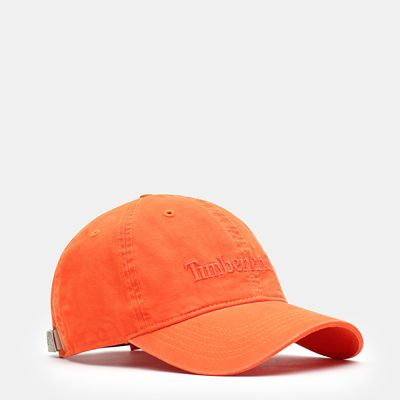 Casquette+de+base-ball+Southport+Beach+pour+homme+en+orange