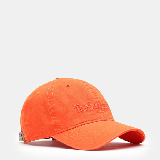 Southport Beach Baseballkappe für Herren in Orange | Timberland