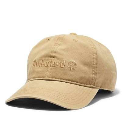 Canvas+Baseball+Cap+for+Men+in+Khaki