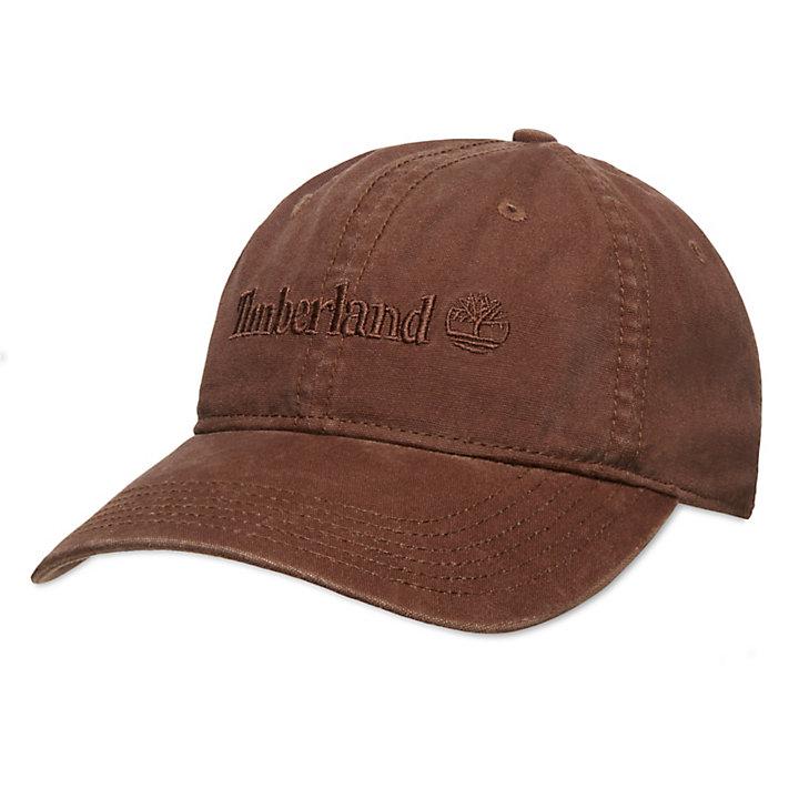 Baumwoll-Baseballcap für Herren in Braun-