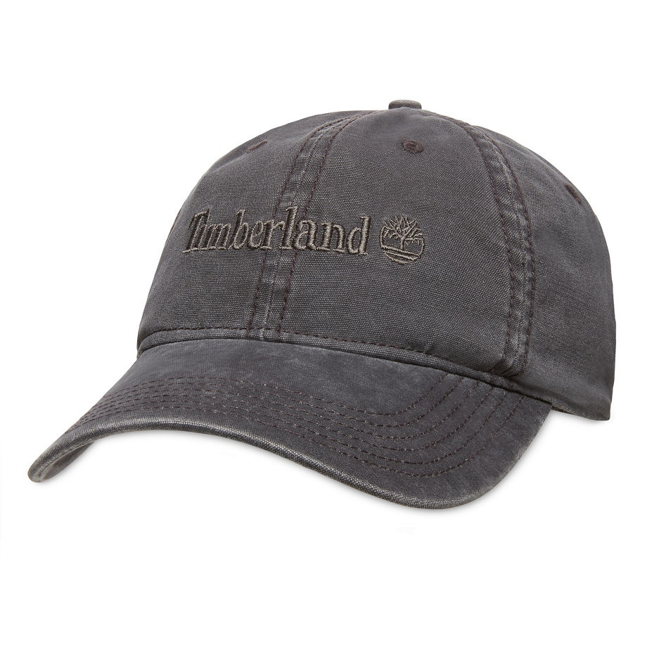79e39be9206 Timberland Cotton Baseball Cap For Men In Pale Grey Pale Grey