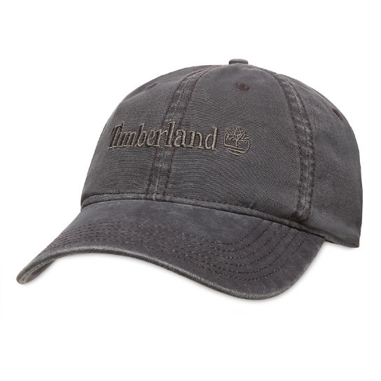 Cotton Baseball Cap for Men in Pale Grey | Timberland