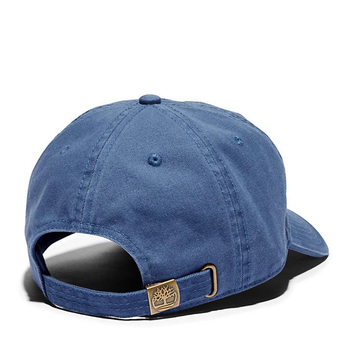 Gorra de Béisbol con Logotipo Bordado para Hombre en azul marino-