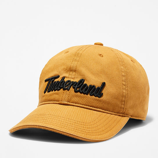 Midland Beach Embroidered Baseball Cap for Men in Yellow | Timberland
