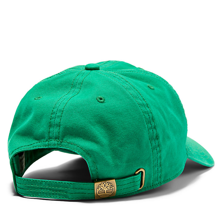Soundview Kappe aus Baumwollcanvas für Herren in Grün-