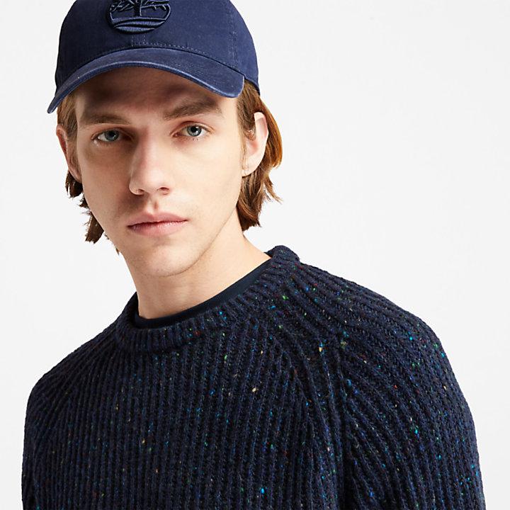 Soundview Cotton Canvas Cap for Men in Navy-