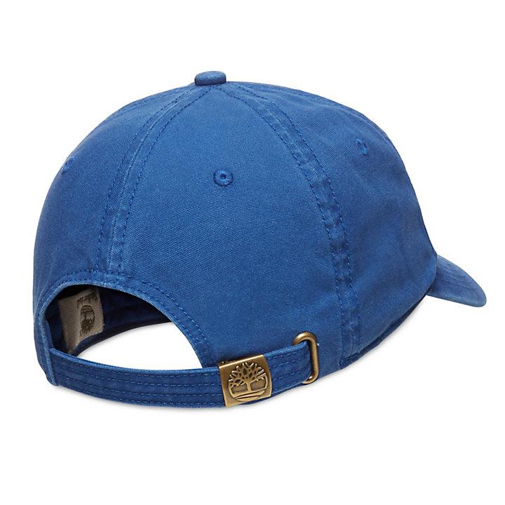 Cotton Baseball Cap for Men in Blue-